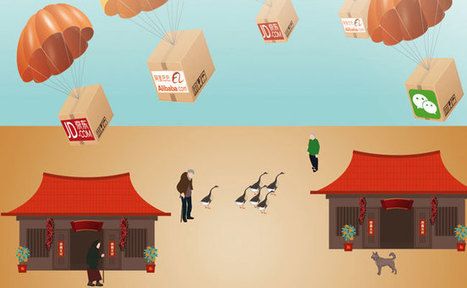 Chinese E-commerce Companies Head to the Countryside - CKGSB Knowledge | Ecommerce logistics and start-ups | Scoop.it