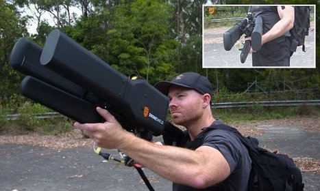 Anti-drone RIFLE can take down a UAV from 2km away | drones | Scoop.it