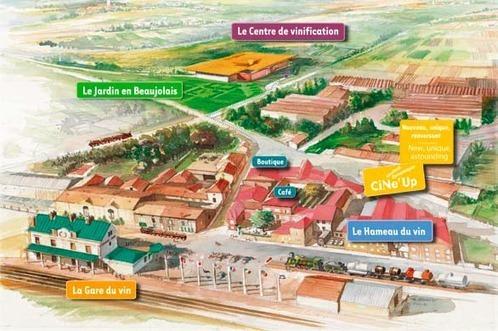 Un parc européen dédié à l'œnotourisme