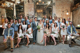 How to Pull Off a Mixed Gender Bridal Party | Tips for Grooms | Scoop.it