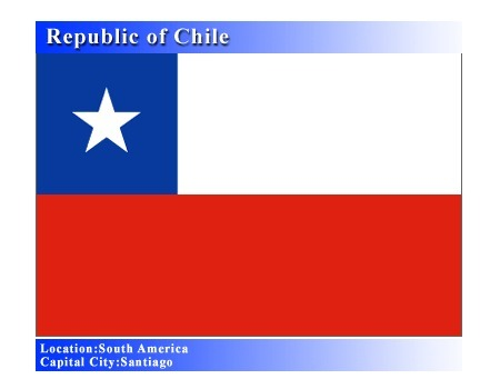 Chile Flag | Chile, Scarlett Bullard | Scoop.it