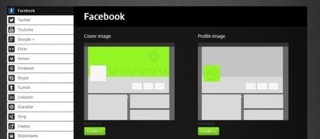 Social Media Image Maker : outil de retouche photo spécial réseaux sociaux | Passion Entreprendre | Scoop.it