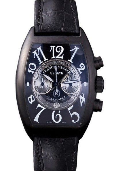 Replica Franck Muller Casablanca White Dial Numbers Black Croco Strap-$245.00 | Men's & Women's Replica Watches Collection Online | Scoop.it