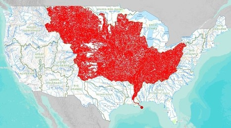 The 7,000 Streams That Feed the Mississippi River | Geography Education | Scoop.it