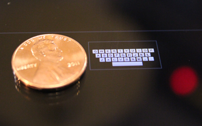 Carnegie Mellon develops wee QWERTY texting technology for impossibly tiny devices | Good Advice | Scoop.it