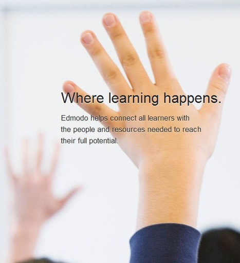 Edmodo | Where Learning Happens | Sign up, Sign In | ESL & Platforms, cloud + 3D | Scoop.it