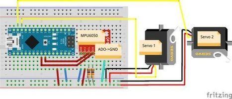 Gyro Stabilizer w/ Arduino and Servo | Arduino, Netduino, Rasperry Pi! | Scoop.it