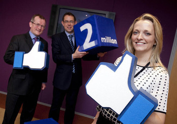 Tourism Ireland reaches 2 million Facebook fans | Turismo | Scoop.it