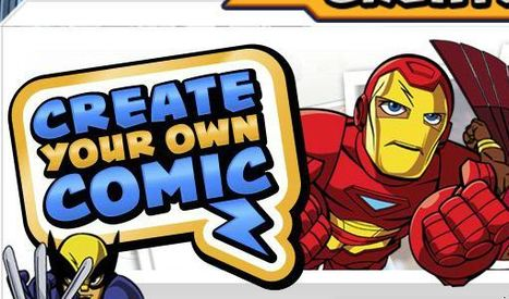Create Your Own Comic | Marvel Super Hero Squad | The Official Web Site | TRy it | Scoop.it