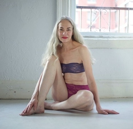 62-Year Old Poses in Lingerie for American Apparel: Hot or Really, Really Not? - The Hollywood Gossip | Lingerie grande taille | Scoop.it