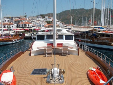 33m Charter Gulet Berrak Su. Her New Deluxe Look in 2014 | Yacht Charter & Blue Cruise Destinations | Scoop.it