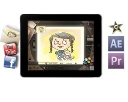 Animation Desk - create animations on your iPad | #CentroTransmediático en Ágoras Digitales | Scoop.it