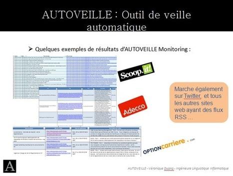 AUTOVEILLE (logiciel de veille) au Pôle Numérique CCI de Bordeaux | Veille et curation du web | Scoop.it