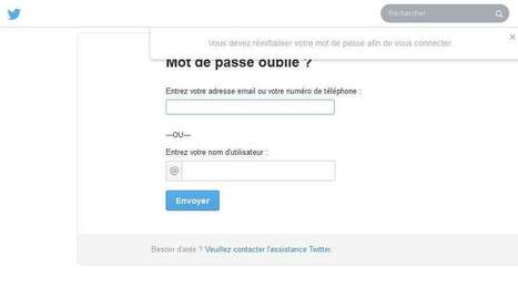 Twitter réinitialise des milliers de mots de passe... pour rien - Les Échos | Protection des données personnelles | Scoop.it