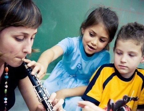 Incluir educación musical en la formación de los niños es muy beneficioso | Education music | Scoop.it