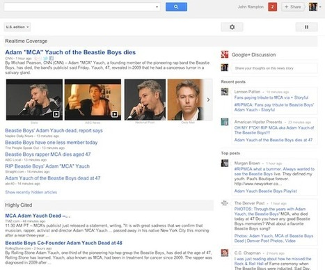 Google News Adds Realtime Coverage, Google+ Discussion in U.S. ... | Social Media Epic | Scoop.it
