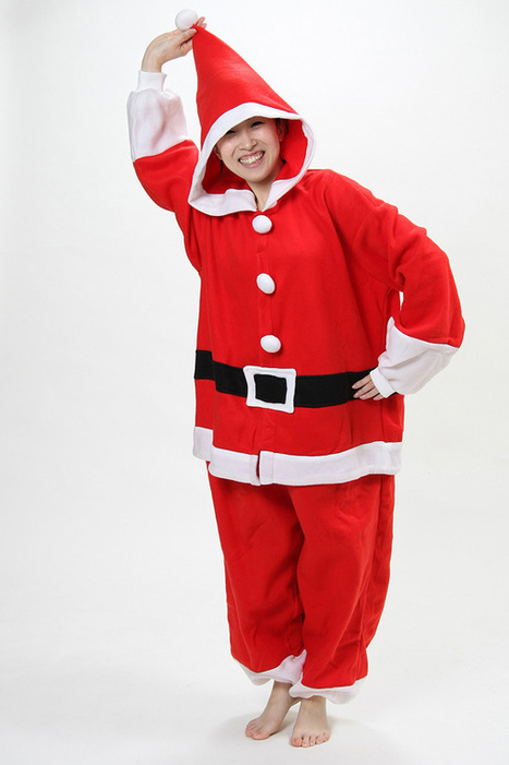 Father Christmas adult onesies kids costumes | adult onesies sale-pajama.com | Scoop.it