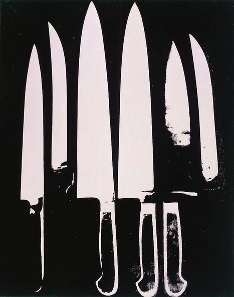 Knives — Andy Warhol | biblioklept | News coutellerie internationale | Scoop.it
