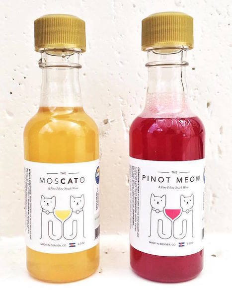 "Catnip-Infused ""Wine"" Lets Your Favorite Feline Safely Enjoy a Glass with You 