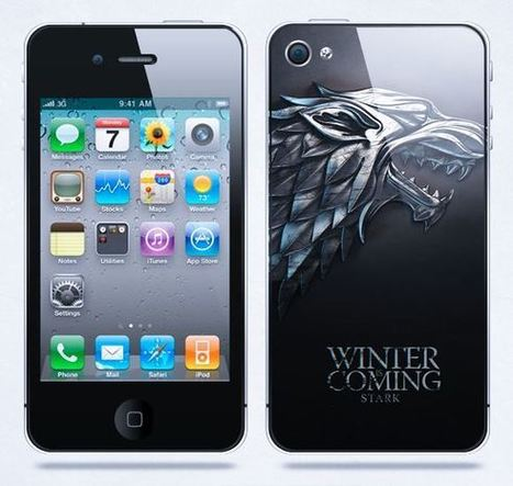 Winter is coming Stark iPhone case | Apple iPhone and iPad news | Scoop.it
