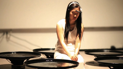 Artist Manipulates Water With The Power Of Her Mind | The Creators Project | Body and Mind | Scoop.it