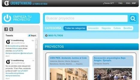 crowdthinking, una plataforma de apoyo colaborativo a ideas, en español e inglés | Big and Open Data, FabLab, Internet of things | Scoop.it
