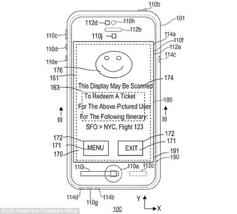 Could your next iPhone have an 'invisible' display? Apple patents a hidden transmission of data | Government cancer treatment | Scoop.it