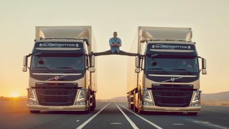 Volvo e Van Damme insieme per l'epic split [VIRAL VIDEO] | The Matteo Rossini Post | Scoop.it