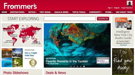 Google kills Frommer's print travel guides | Tourism Social Media | Scoop.it