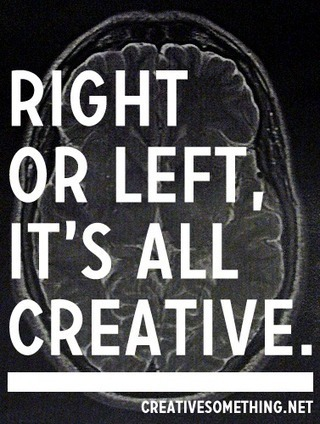 Forget about left brain right brain | Innovatus | Scoop.it