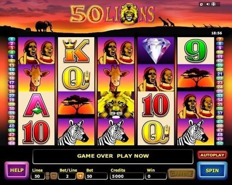 New 50 Lions slot online | Online Slots | Scoop.it