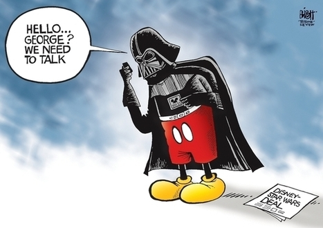Double Take 'Toons: It's A Small Galaxy After All : NPR | An Eye on New Media | Scoop.it