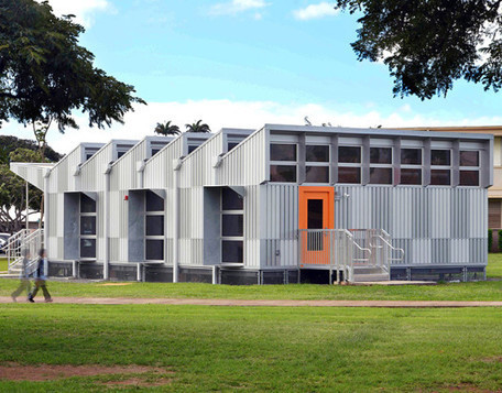 Energy-positive portable classroom produces four times more energy than it needs | sustainable architecture | Scoop.it