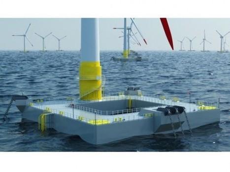 Japon : l'éolien flottant «made in France» à l'honneur @erdf   694028   Scoop.it