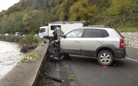 Rebouc - La collision auto-camion fait un blessé grave | Vallée d'Aure - Pyrénées | Scoop.it