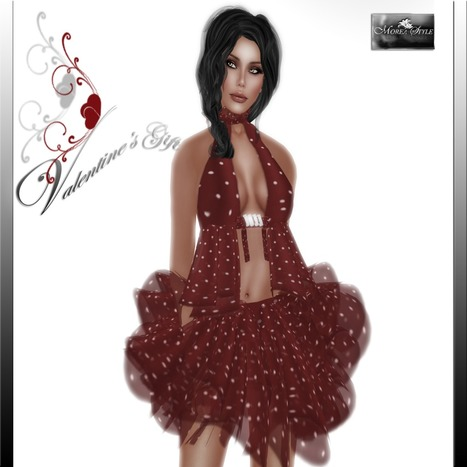Red Polka Dot Mini Dress Valentine's Gift by MOREA Style | Teleport Hub | Second Life Freebies | Scoop.it