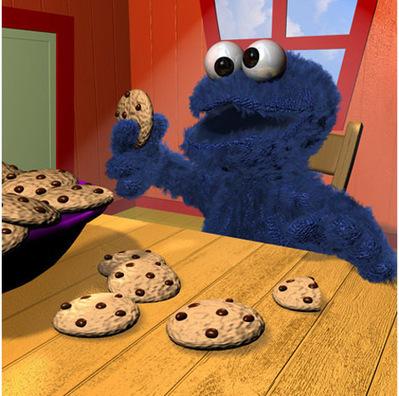 Cookie Monster en 3D | 3D Library | Scoop.it