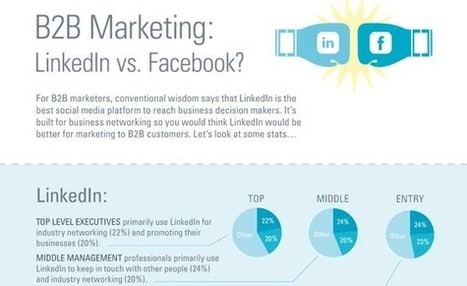 LinkedIn Vs. Facebook: Which is Better For Business Networking | Social Media On The Loose~ | Scoop.it