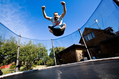Working out on a Large Trampoline | All About Longboarding | Scoop.it