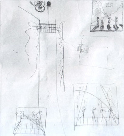 Paul McCartney's Conceptual Drawings For the Abbey Road Cover and Magical Mystery Tour Film | doodling | Scoop.it