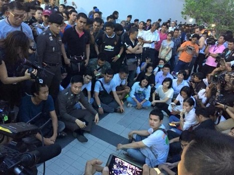 Thailand Police Detains Student Protesters During Coup Anniversary · Global Voices | Police Problems and Policy | Scoop.it