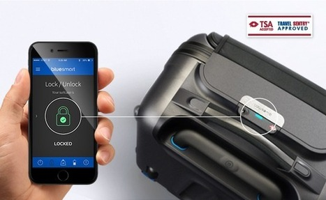 Bluesmart - The World's first smart carry-on suitcase | Contact Center | Scoop.it