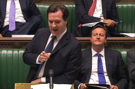 "If picture paints a thousand words ""George Osborne told to calm down after furious clash with Ed Balls"" 