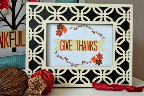 9 Beautiful Thanks Giving Printable Ideas - 2014 | Label Printing Services | Scoop.it