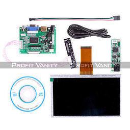"7"" TFT LCD Monitor For Raspberry Pi Touch Screen + Driver Board HDMI VGA 2AV DE. | Raspberry Pi | Scoop.it"