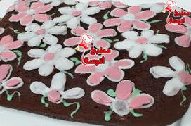 وصفة كيك الشوكولاتة من برنامج مطبخ منال العالم لـ الشيف منال العالم ~ مطبخ أتوسه على قد الايد | مطبخ أتوسه | Scoop.it