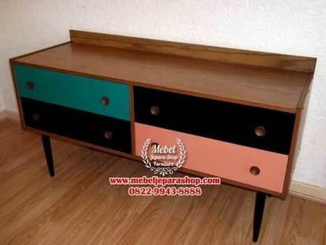 Meja TV Model Rtro Vintage | MEBEL JEPARA SHOP | Mebeljeparashop | Scoop.it