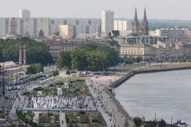 Tourisme : visitez la ville de Bordeaux vue d'en haut - Sud Ouest | projet de bordeaux | Scoop.it