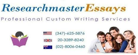 RMEssays-the Best Place to Order Research Paper Writing Services | Research Master Essays | Scoop.it