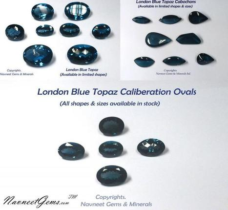 London Blue Topaz Gemstones- NavneetGems.com   London Blue Topaz   Scoop.it